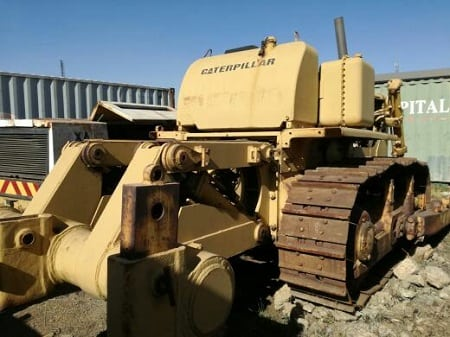 Powerline construction equipment, trucks and tractors on auction!